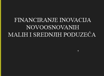 Konzultanti za EU fondove, projekti financiranja inovacija